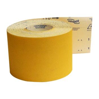 Rolo de lixa madeira G125 grão 150 - 120mmx45m - Norton - 69957365593 - Unitário