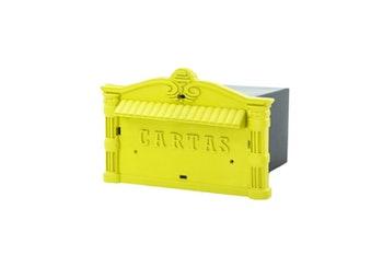Caixa de Correio PVC Amarela - Thompson - 1559 - Unitário