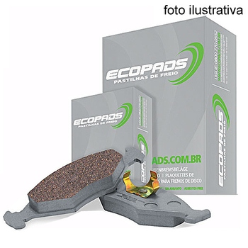 Pastilha de Freio Dianteira - Ecopads - ECO-1006 - Par