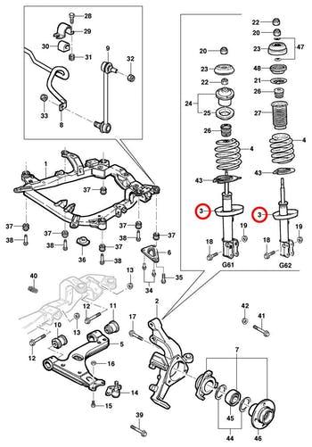Amortecedor Dianteiro - Original Chevrolet - 94738771 - Unitário