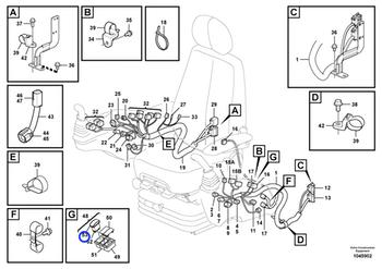 Interruptor - Volvo CE - 17222768 - Unitário