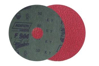 Disco de fibra speed gel F944 grão 50 115x22mm - Norton - 05539537644 - Unitário
