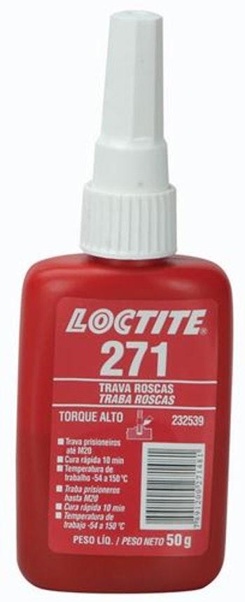 Adesivo Anaeróbico Trava Rosca 271 50g - Loctite - 232539 - Unitário