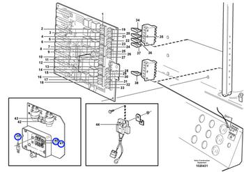 Fusível - Volvo CE - 982617 - Unitário