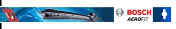 Palheta Dianteira Aerofit - Af340 - Bosch - 3397007928 - Par - Bosch - 3397007928 - Par