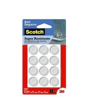 Protetor 3M Scotch Anti-Impacto Redondo GG - 3M - HB004263099 - Unitário