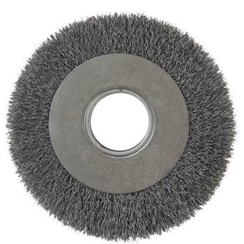 Escova Circular 250x25mm Fio 0,4mm 3500RPM - Diametro - 7000-3500 - Unitário
