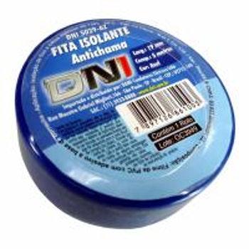 Fita Isolante Azul 5m - DNI 5029AZ - DNI - DNI 5029AZ - Unitário