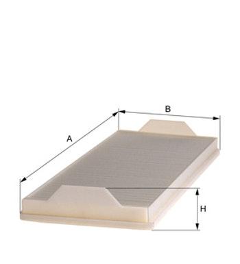 Filtro do Ar Condicionado - Hengst - E980LI - Unitário