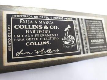 Facão Kit 14,16,18,20 Collins Stanley Antigos Raridade (um de cada) - Ferramentas Collins - 7000000020094 - Kit