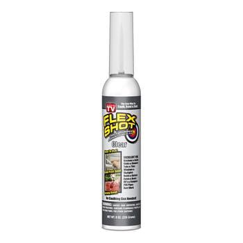 Flex Shot Transparente Bisnaga de vedação 230ml - Flex Seal - FSH8C - Unitário