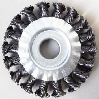 Escova Circular 100x13mm Fio 0,60mm 12500Rpm - Abrasfer - 7010-A - Unitário