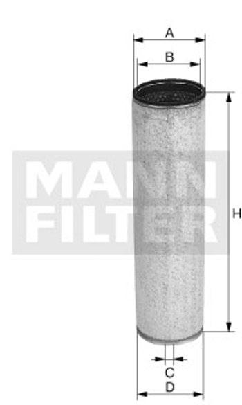 Filtro de Ar - Mann-Filter - CF 1552 - Unitário
