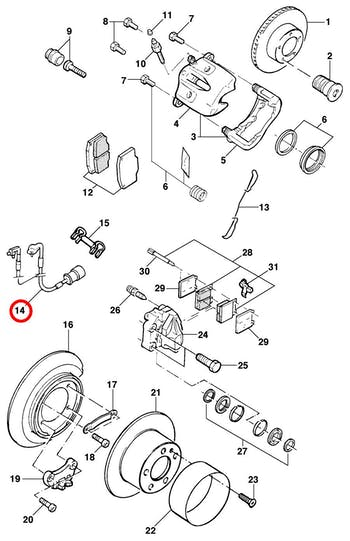 Conector Alarme Pastilha - Original Chevrolet - 90345102 - Unitário