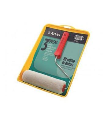 Kit Prático de Pintura 3 Peças - Atlas - 1001 - Unitário