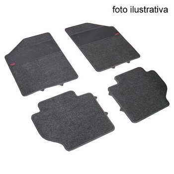 Tapete de Carpete Automotivo - Borcol - 3414221 - Kit