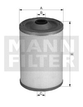 Filtro de Combustível - Mann-Filter - BFU700 - Unitário