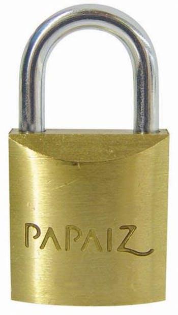 Cadeado Latão 35mm CR 35 - Papaiz - 6684718 - Unitário