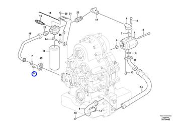 Parafuso Flangeado - Volvo CE - 946752 - Unitário