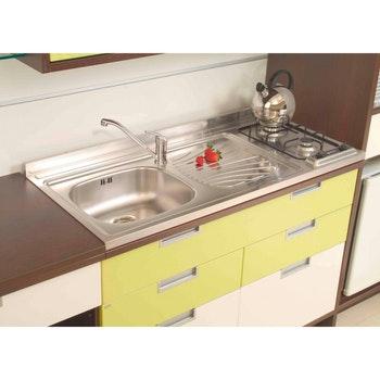 Pia-fogão Tramontina Star em Aço Inox 120x55 cm - Tramontina - 93710103 - Unitário