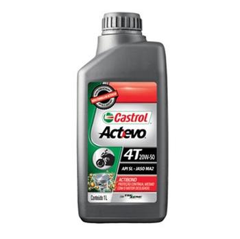 Óleo para Motor Castrol Actevo 4T - 20W50 - Castrol - 3390603 - Unitário