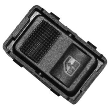 Tecla Simples Acionadora do Vidro da Porta Traseira - Universal - 90166 - Unitário