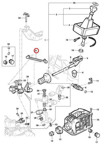 Liame do Trambulador - Original Chevrolet - 90425766 - Unitário
