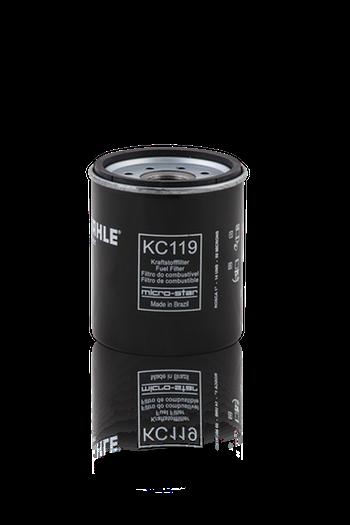 Filtro Blindado de Combustível - MAHLE - KC119 - Unitário