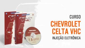 Curso - Injeção Eletrônica - Celta VHC - Módulo 20 - VIDEOCARRO - 11.10.01.177 - Unitário