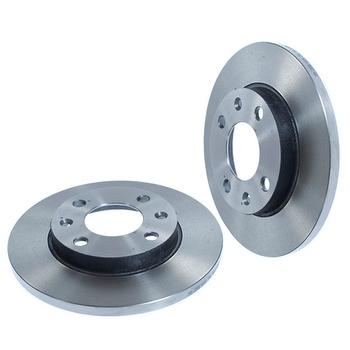 Disco de Freio Dianteiro Sólido - Hipper Freios - HF298 - Par