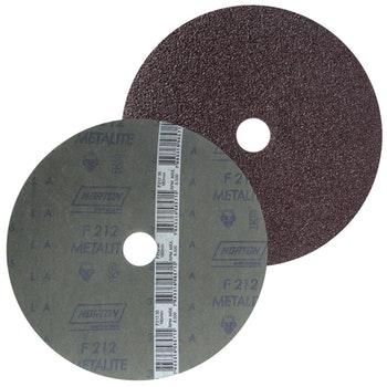 Disco de fibra metalite F212 grão 36 180x22mm - Norton - 66261037164 - Unitário