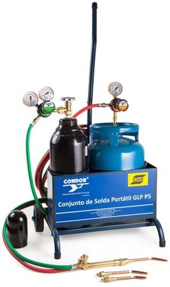 Conjunto de Solda PPU OXI-GLP sem Gás 404534 - Condor - 404534 - Unitário