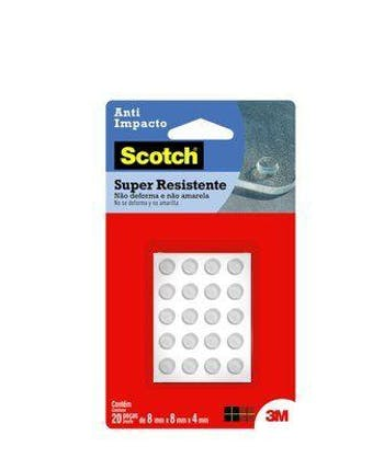 Protetor 3M Scotch Anti-Impacto - Redondo P - 3M - HB004263057 - Unitário