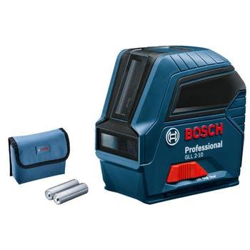 Nível Laser de Linhas GLL 2-10 - Bosch - 0601063L00 - Unitário