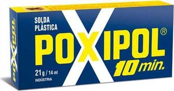 Adesivo Epóxi Poxipol 10min Pastoso 21g - Poxipol - 21 - Unitário