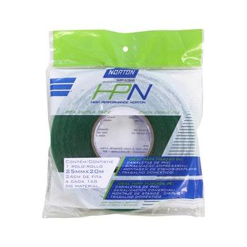 Fita dupla face HPN 25mmx20m - Norton - 66261103797 - Unitário