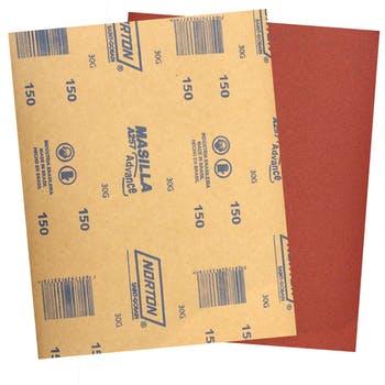 Folha de lixa massa A257 grão 150 - Norton - 69957385066 - Unitário