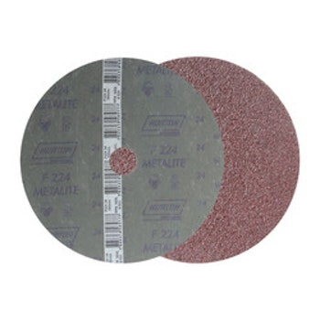Lixa Disco de Fibra 180mm Aços em Geral G24 22 Furos F224 - Norton - 05539539259 - Unitário
