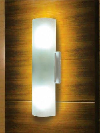 Arandela Embaú Vidro Fosco 20cm Branca - Taschibra - 02070038-01 - Unitário