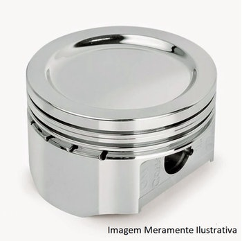 Pistão com Anéis do Motor - KS - 92581600 - Unitário