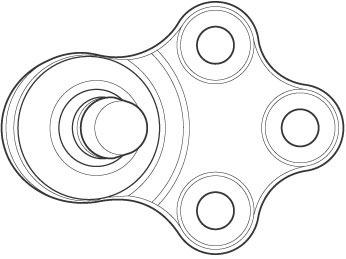Pivô - Nakata - N 6068 - Unitário