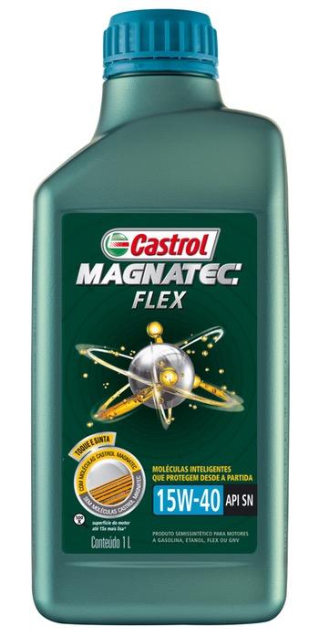 Óleo para Motor Castrol MAGNATEC Flex - 15W40 - Castrol - 3372569 - Unitário