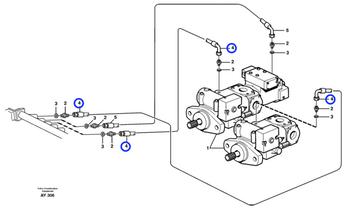 Mangueira Completa - Volvo CE - 11163029 - Unitário