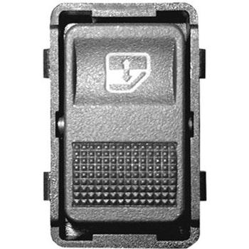 Tecla Simples Acionadora do Vidro da Porta Traseira - Universal - 90289 - Unitário