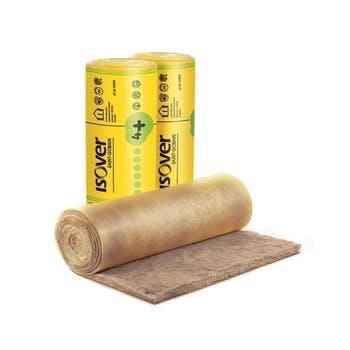 Manta Lã de Vidro Wallfet 4+ 70mm x 1,2 x 12,5m 15m² - Isover - EE10750001 - Unitário