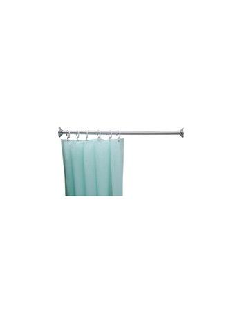 Suporte Cortina Box Banheiro Reto em Alumínio 0,90m - Jackwal - 003050 - Unitário