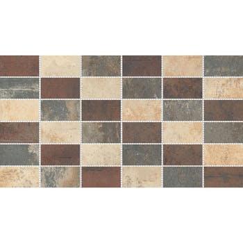 Piso Argos Mosaico Multicor - Incepa - 74370010 - Unitário