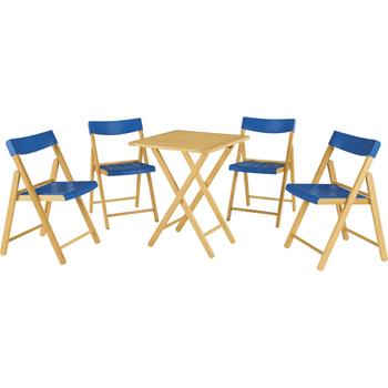 Conjunto de Cadeiras e Mesa Potenza - Tramontina - 10630033 - Unitário