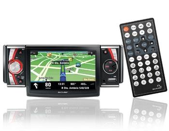 """GPS com DVD Player 4,3"""" - Multilaser - P3102 - Unitário"""