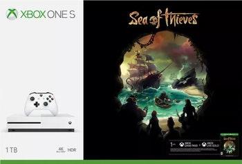 Xbox One S 1TB Sea Of Thieves - Microsoft - 14222 - Unitário